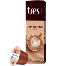 Cápsula de Cappuccino Avelã TRES 10 Capsulas