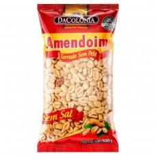 Amendoim Torrado sem Sal Dacolonia Pacote 500g