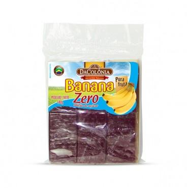 Banana Zero Acucar Dacolonia 180g