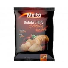 Batata Chips Costelinha com Limão Maita 45g