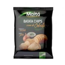 Batata Chips Creme de Cebola Maita 45g