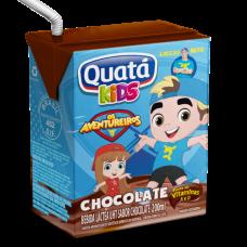 Bebida Láctea UHT Chocolate Quatá 200ml