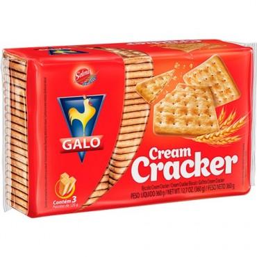 Biscoito Cream Cracker Galo 360g