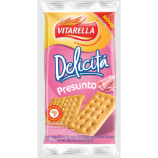 Biscoito Delicita Sabor Presunto Vitarella 138g
