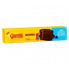 Biscoito Garoto Recheado Sabor Chocolate Leite 130g