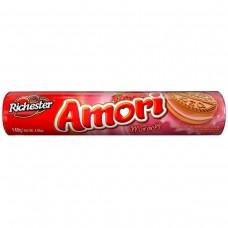 Biscoito Richester Amori Morango 140g
