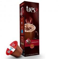 Cápsula de Chocolatto Quente Tres 10 cápsulas