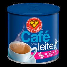 Café com Leite 3 Corações Lata 330g