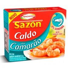 Caldo Sazon em Pó Camarão Caixa 37,5g