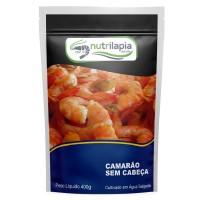 Camarão Cinza Cozido Nutrilapia 400g