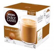 Capsula de Cafe Au Lait Dolce Gusto 100g CX 10 und