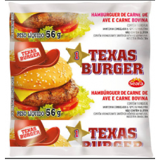Carne de Hambúrguer Mista Texas Burger 56g
