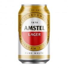 Cerveja Amstel Larger Puro Malte Lata 350ml