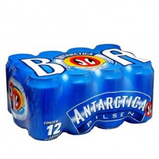 Cerveja Antarctica Lata 350ml Cx 12un.