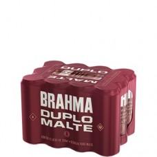 Cerveja Brahma Duplo Malte 350ml 1 Pack 12 Latas