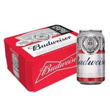 Cerveja Budweiser Lata 350ml Pack 12 Latas