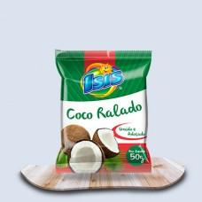 Coco Ralado Isis Umido e Adoçado 50g