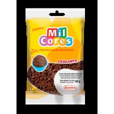 Flocos Crocantes Sabor Chocolate Mavaleiro 150g