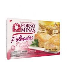 Folhado Forno de Minas Queijo Presunto Forno de Minas 240g