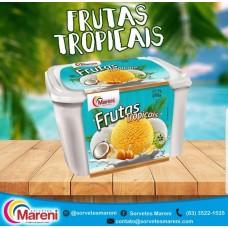 Sorvete Mareni Frutas Tropicais 2L