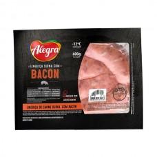 Linguiça Suína com Bacon Alegra 600g