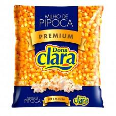 Milho de Pipoca Dona Clara Premium 500g