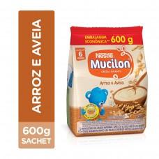 Mucilon Arroz e Aveia Sache Nestlé 600g