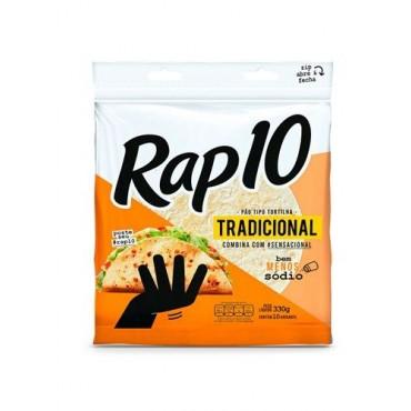 Pão Tortilha Rap 10 Tradicional 330g