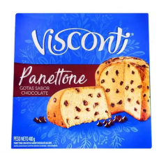 Panettone Gotas De Chocolate Visconti 400g