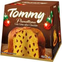 Panettonne Tommy Gotas de Chocolte 400g