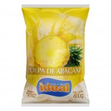 Polpa de Abacaxi Ideal 400g