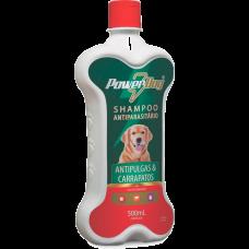 Power Dog Shampoo Antipulgas e Carrapatos 500ml
