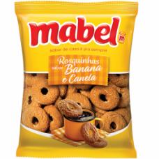 Rosquinhas Mabel Banana com Canela 350g