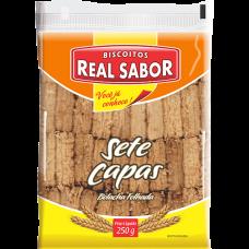 Biscoitos Salgado Real Sabor Sete Capas 250g