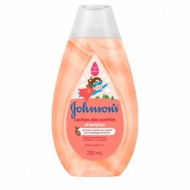 Shampoo Johnsons Cachos dos Sonhos 200ml