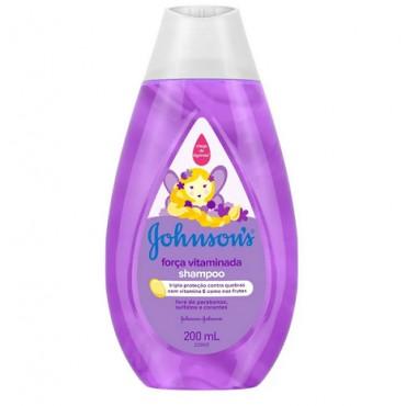 Shampoo Johnsons Força Vitaminada 200ml