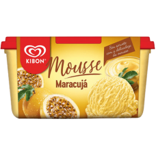 Sorvete Kibon Mousse de Maracuja 1,5L