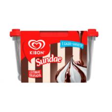 Sorvete kibon Sundae Chocolate Trufado 1.4L