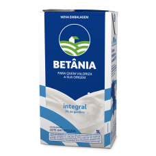 Leite Betânia Integral 1L