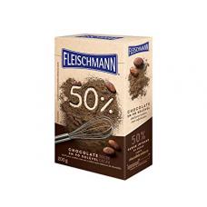 Chocolate em Pó Fleischmann 50% 200g