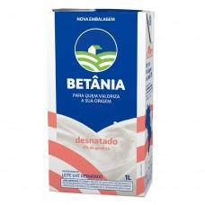 leite Betânia desnatado 1L