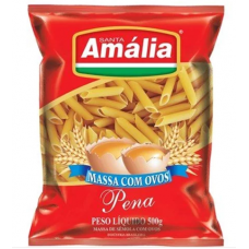 Macarrão Santa Amália Ovos Penne 500g