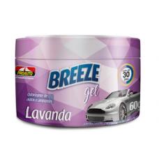 Aromatizante para Carro Proauto Breeze Gel Lavanda 60g