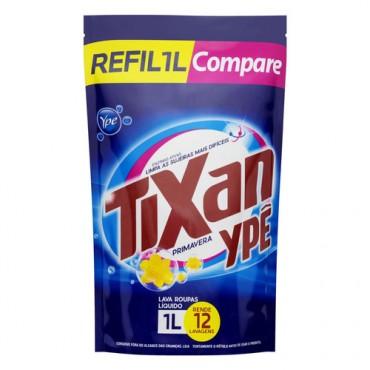 Sabão Liquido Tixan Ypê Primavera 1L