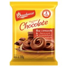 Biscoito Amanteigado Chocolate Bauducco 335g