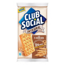 Biscoito Club Social Integral 5 Cereais 144g