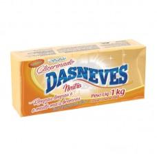 Sabão em Barra DasNeves Neutro 1kg