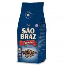 Café Em GRÃOS PREMIUM São Braz 500g