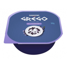 Iogurte Grego Frutas Blueberry Danone 100g