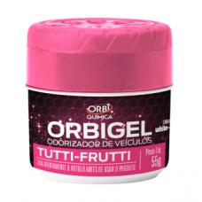 Odorizador de Veículos Orbigel Tutti-Frutti 55g